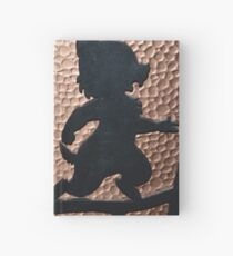 silhouette chip dale chipmunks Hardcover Journal