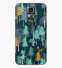 Winter Camping Case/Skin for Samsung Galaxy