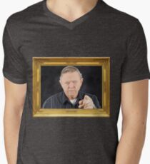 Mr. Green Portrait - As Seen On 'Pencils' Men's V-Neck T-Shirt