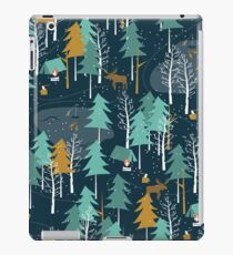 Winter Camping iPad Case/Skin