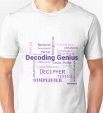 Decoding Genius 2 Unisex T-Shirt
