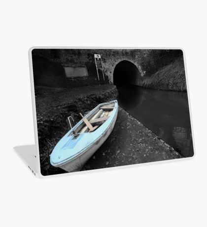 Bruce Tunnel and Little Blue Boat Laptop Skin