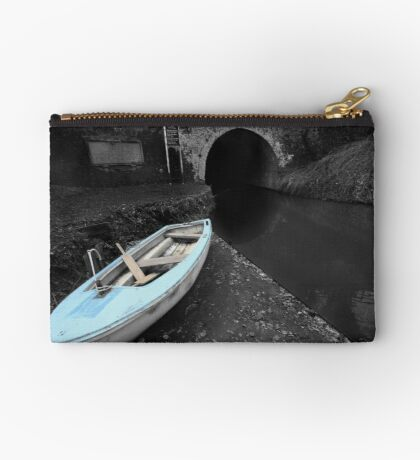 Bruce Tunnel and Little Blue Boat Studio Pouch