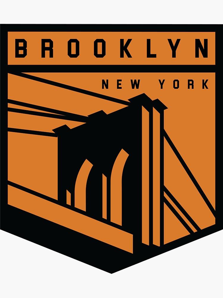 Brooklyn, NY graphic by alexyarrish