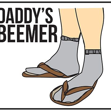 Daddy's Beemer ~ dad fashion  by lwall2426