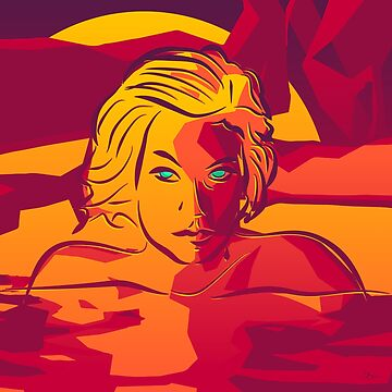 Sunset Swim [Imagine Series] by DieselLaws