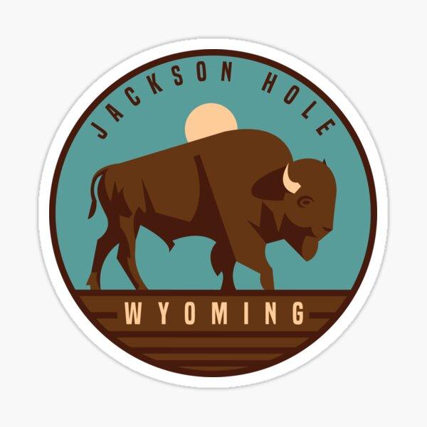Jackson Hole, Wyoming graphic Sticker