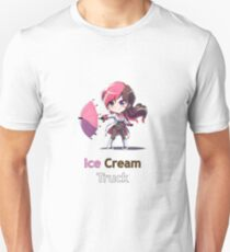 RWBY Neo - Ice Cream Truck (center) Unisex T-Shirt