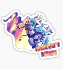 Call to Action! Maker's Muse Sticker