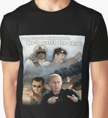 Neighborhood Watch Graphic T-Shirt