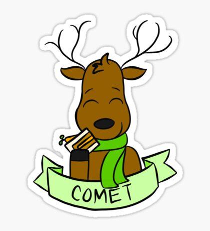 Comet Sticker