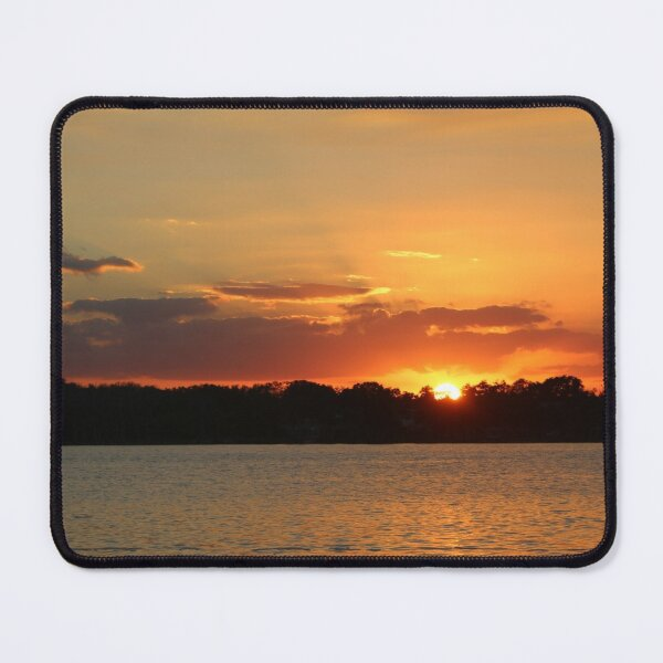 Sunset from the Intracoastal Waterway Fort Pierce Mouse Pad