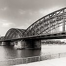 Hohenzollernbrücke Köln von pixelcafe