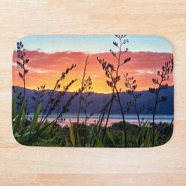 Flax Sunset Bath Mat