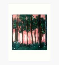 Enchanting Woods Art Print