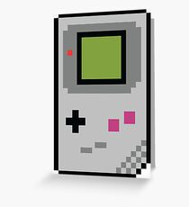 8 bit Gameboy Classic Greeting Card