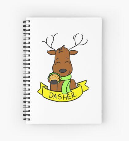 Dasher Spiral Notebook