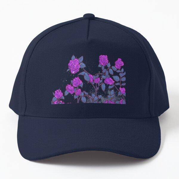 Shekinah Guab X T.Kanero - Purple Roses Baseball Cap
