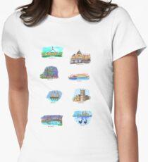 Australia- Capital Cities Women's Fitted T-Shirt
