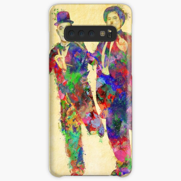 Stan Laurel and Oliver Hardy Samsung Galaxy Snap Case