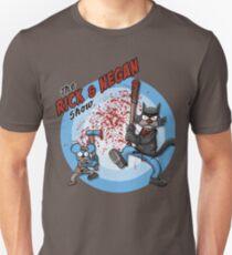 Rick und Negan anzeigen Unisex T-Shirt