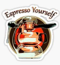 Espresso Yourself 03 Sticker