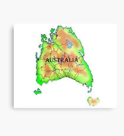 Tasmania's Revenge Metal Print