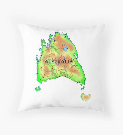 Tasmania's Revenge Throw Pillow