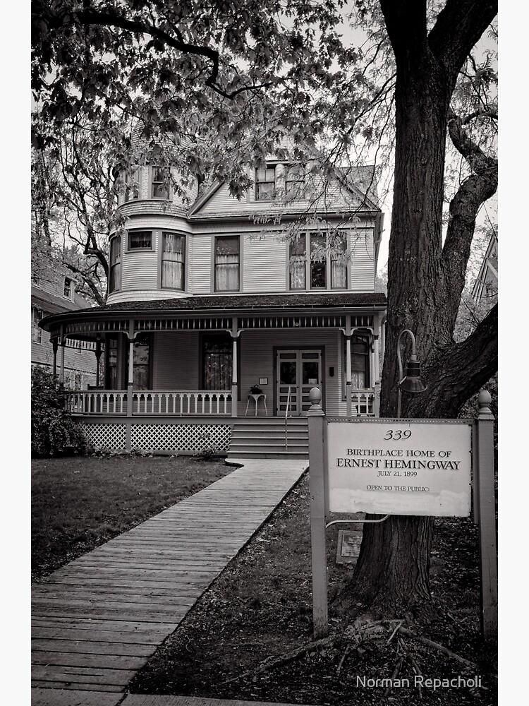 The home of Hemingway, Oak Park Chicago by keystone