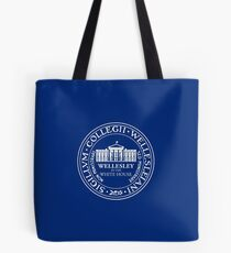 Wellesley in the White House  Tote Bag