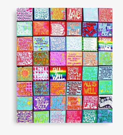 Collection Of Inspiration - Rectangle Canvas Print