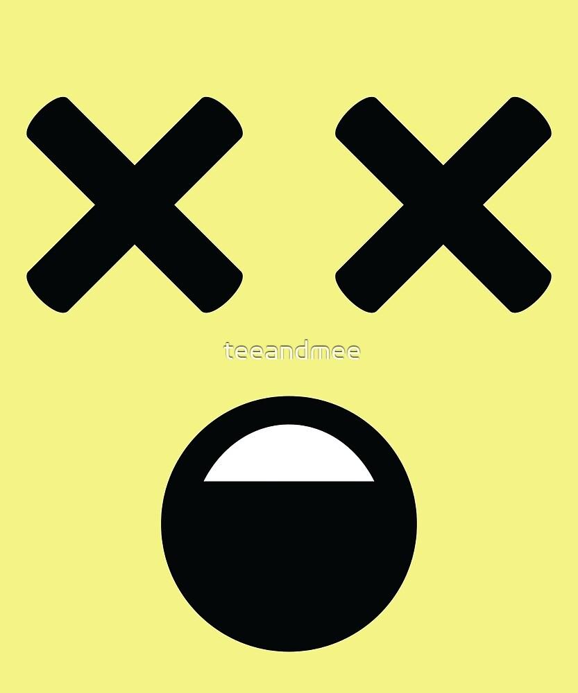 Emoji with XX Eyes by teeandmee
