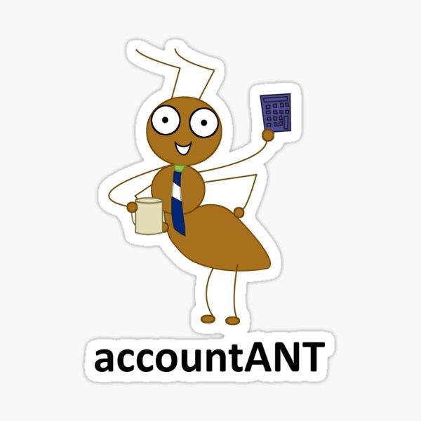 accountANT Deloitte Sticker