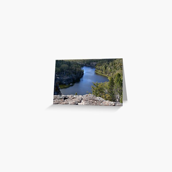 Dunns Swamp Lookout Greeting Card