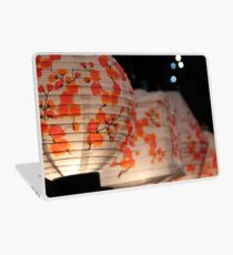 Cherry Blosson Laterns Laptop Skin