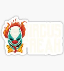 Evil Circus Freak Horror Scary Clown Halloween  Sticker
