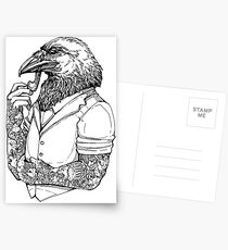 The Crow Man Postcards