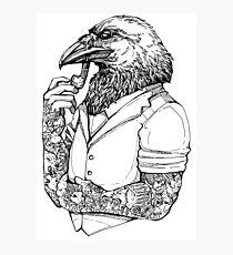 The Crow Man Photographic Print