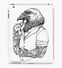 The Crow Man iPad Case/Skin