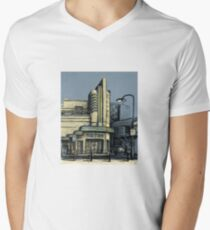 The Metro (Minerva) Theatre, Potts Point Home of Dr D Studios, Kennedy/Miller/Mitchell production company Men's V-Neck T-Shirt