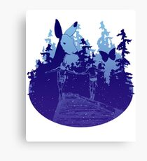 Always with you - starry Canvas Print