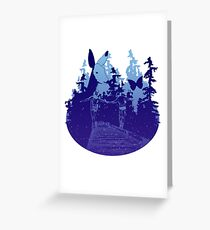 Always with you - starry Greeting Card