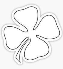 Four Leaf Clover T-Shirt Sticker