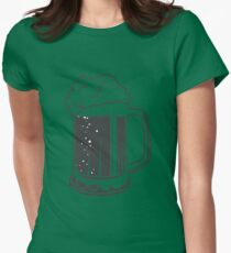 Mug beer Womens Fitted T-Shirt