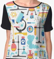 Chemistry laboratory equipment  Women's Chiffon Top