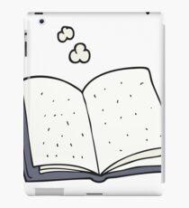 cartoon book iPad Case/Skin