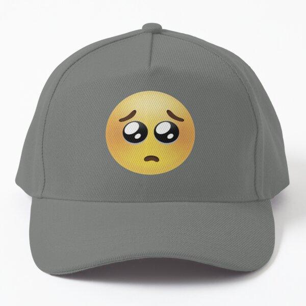 Pouty Emoji  Baseball Cap