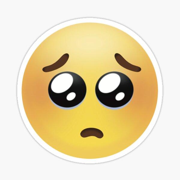 Pouty Emoji  Sticker