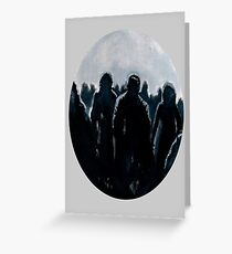 Zombies (Are Hip Again) Greeting Card