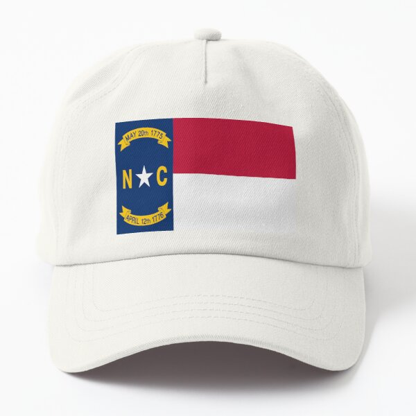 Flag of North Carolina. USA Dad Hat